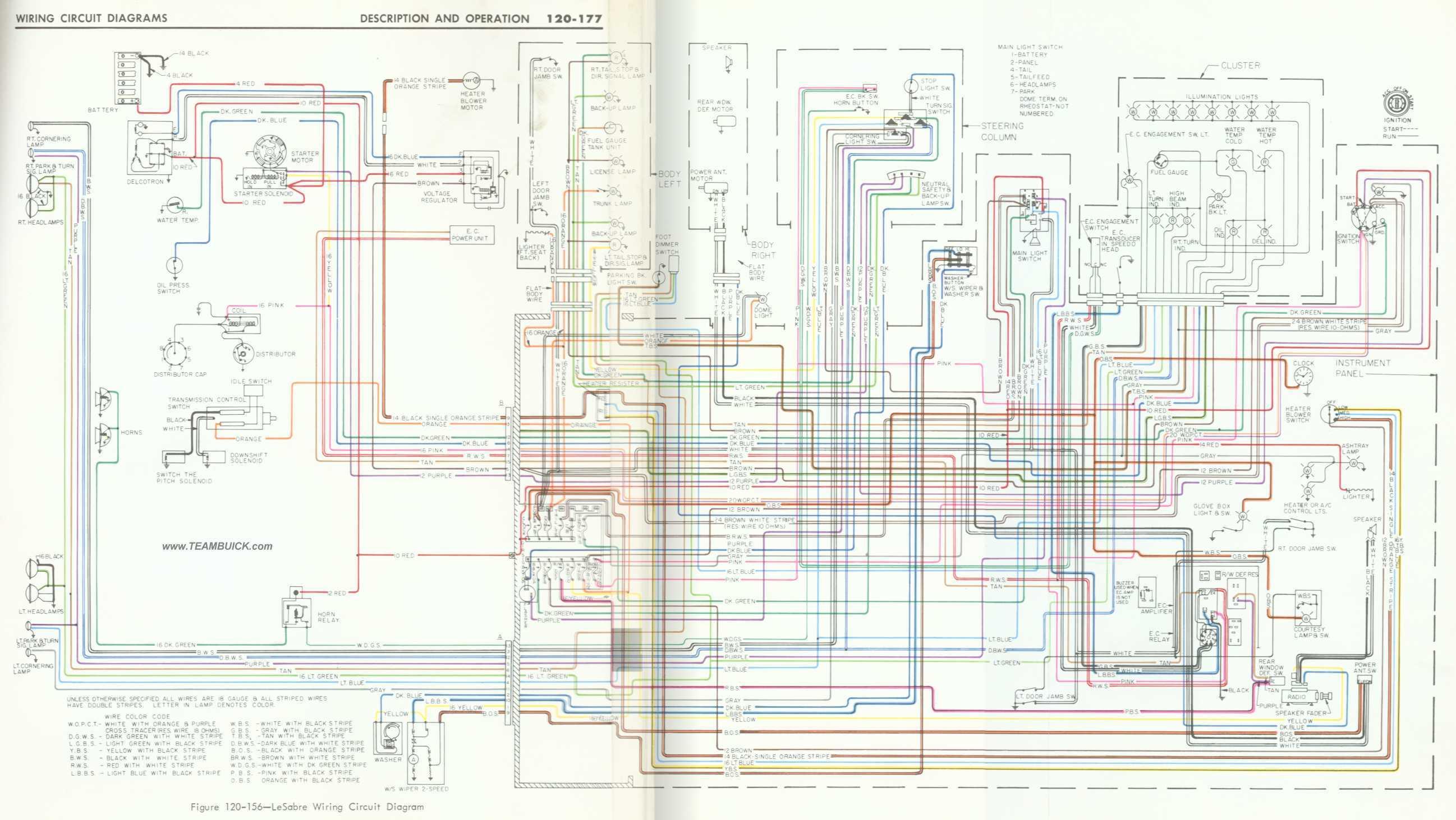 1966 Buick Lesabre Wiring Diagram